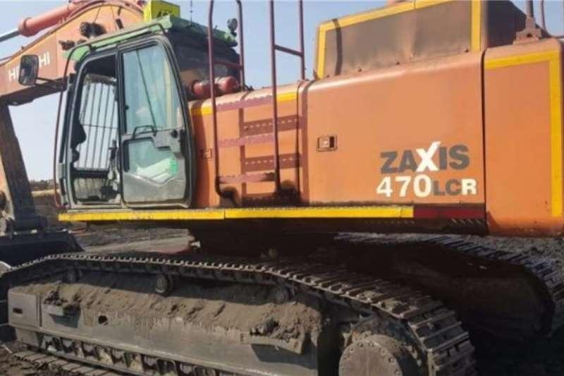 Hitachi Excavators 470 3 2012