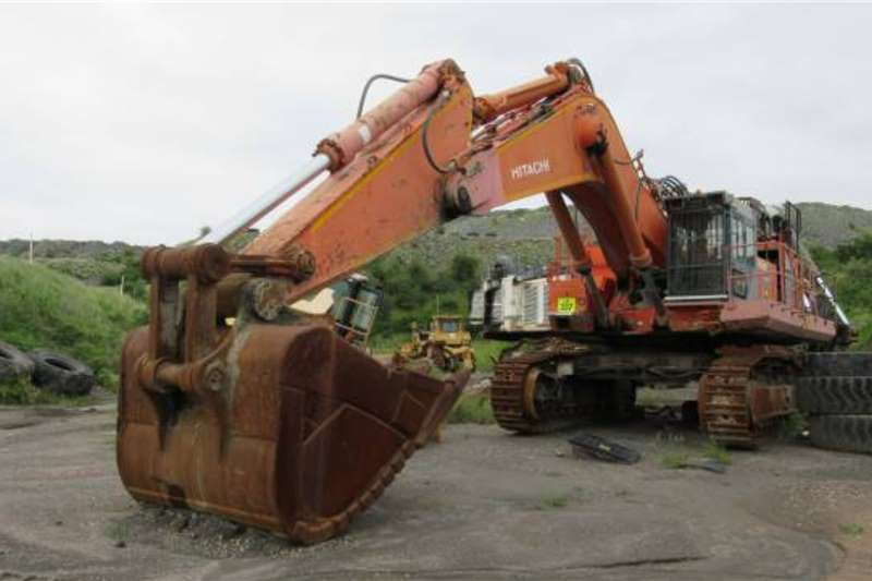 Hitachi Excavators Hitachi EX1200 5 Super Excavator