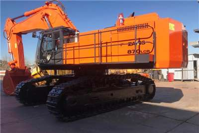 Hitachi Excavators Zaxis 870 LCR 2014