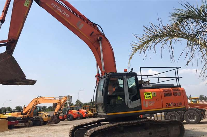 Hitachi Excavators ZAXIZ ZX330 3 2008