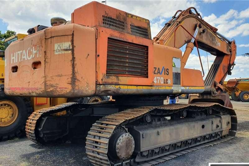 Hitachi ZX 470 LCR 3 Excavator Excavators