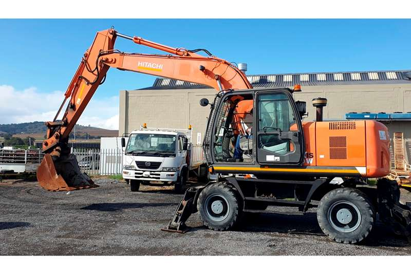 Hitachi Excavators ZX190W 2013