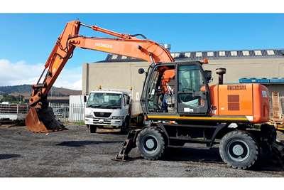Hitachi ZX190W Excavators