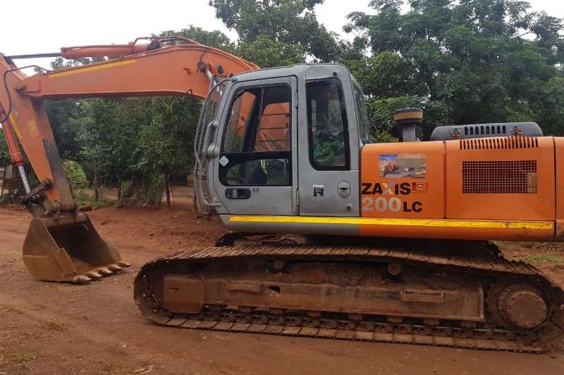 Hitachi ZX200 3 Excavators