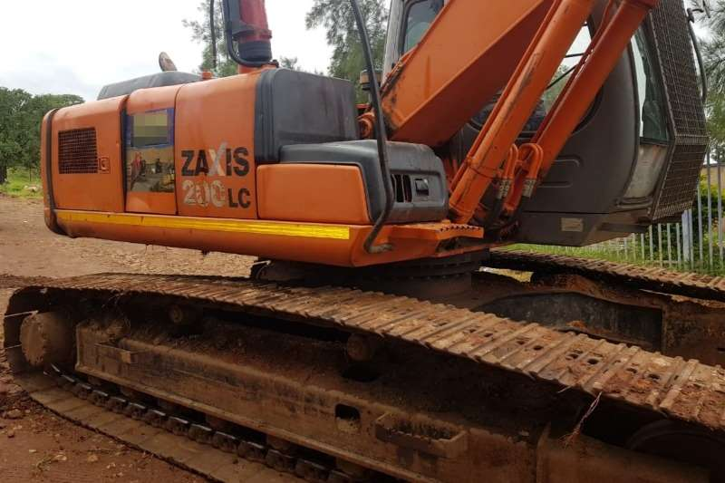 Hitachi ZX200 3 Excavators