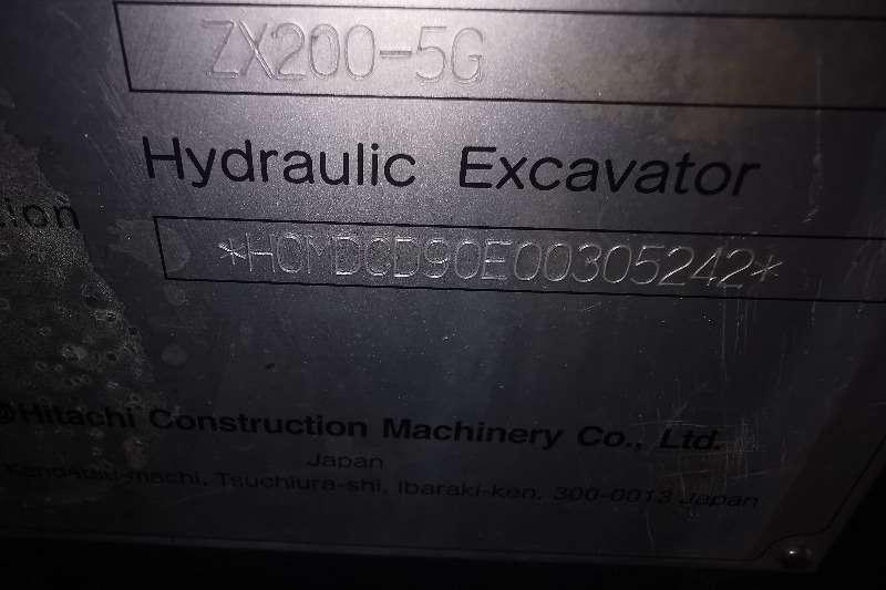 Hitachi ZX200 5G Excavators