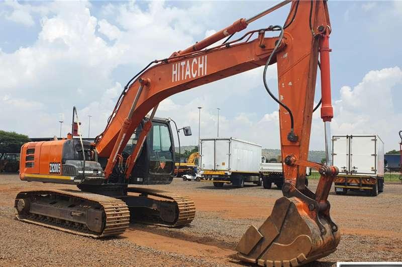 Hitachi ZX200 5G Excavator Excavators