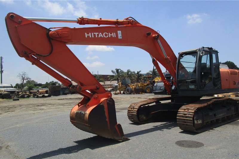Hitachi Excavators ZX270 3 2008
