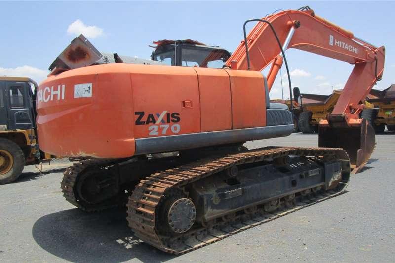Hitachi ZX270 3 Excavators