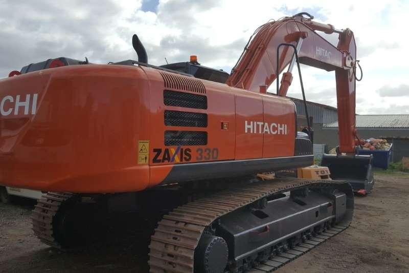 Hitachi Excavators ZX330LC 5G 2013