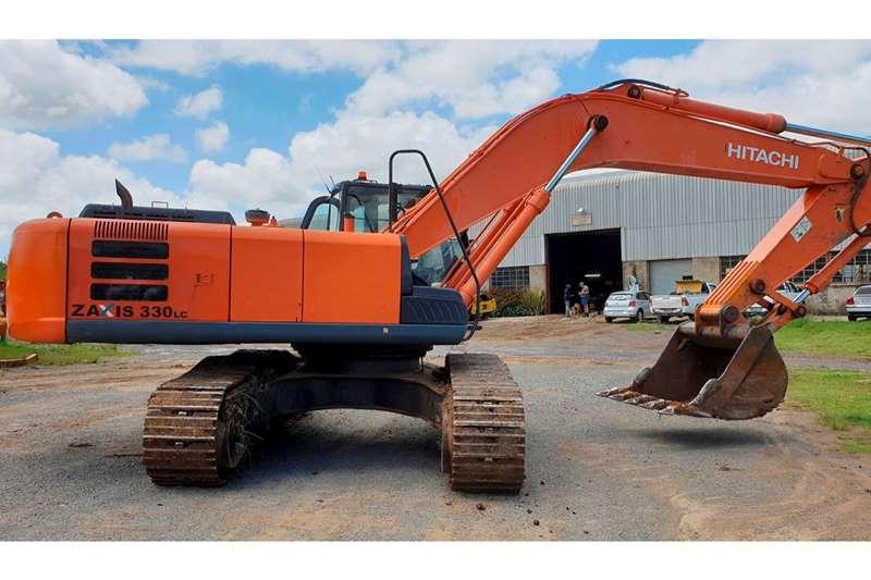 Hitachi Excavators ZX330LC 5G 2014
