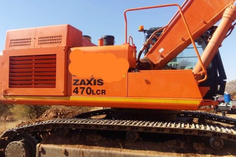 Hitachi Excavators ZX470 2010