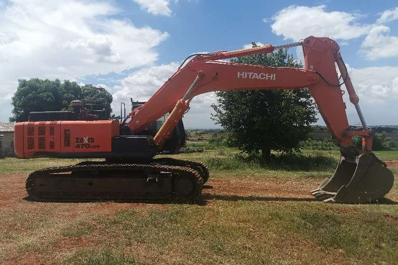 Hitachi ZX470 5G Excavators