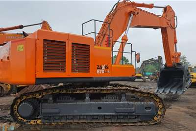 Hitachi ZX670LCR 3 Excavators
