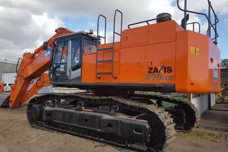 Hitachi Excavators ZX670LCR 5G 2013