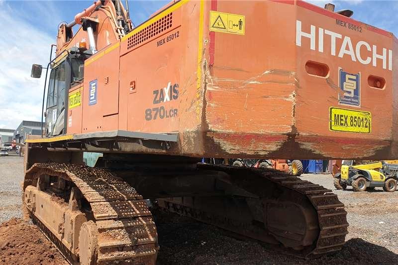 Hitachi ZX870 Excavators