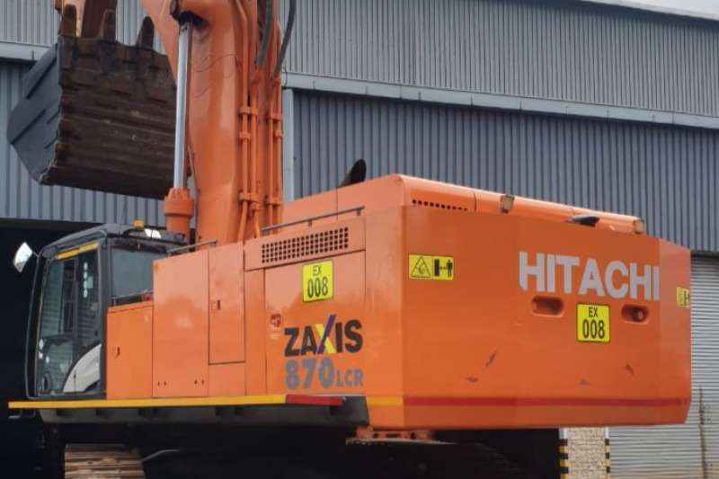 Hitachi ZX870 5G Excavators