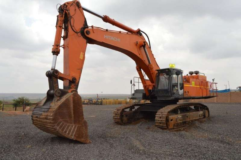 Hitachi Excavators ZX870