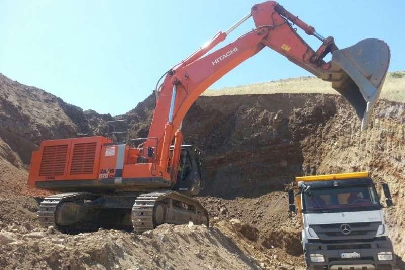 Hitachi Excavators ZX870 LCH 5B Excavator 2015