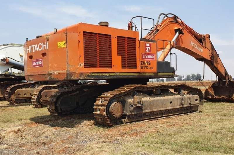 Hitachi Excavators ZX870 LCR 5G Excavator 2016
