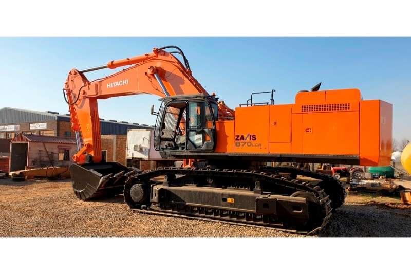 Hitachi Excavators ZX870LCR 5G 2014