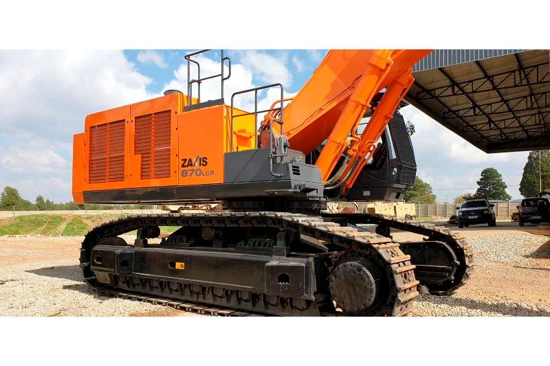 Hitachi Excavators ZX870LCR 5G 2014