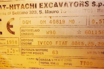 Hitachi Fiat Hitachi W90 Front End Loader FELs
