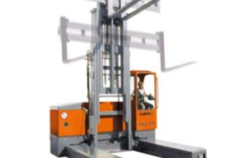 Hubtex Forklifts Material handling Hubtex 2131 Electric Multidirectional Sideloader