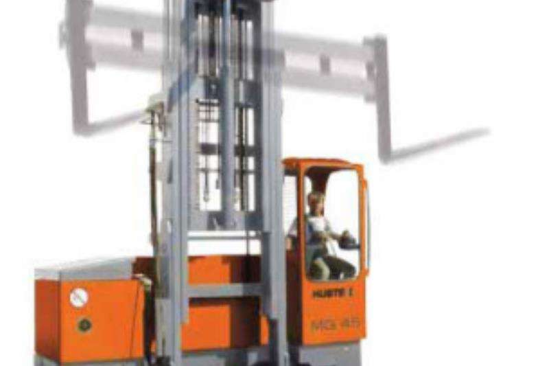 Hubtex Forklifts Material handling Hubtex Electric Multidirectional Sideloader   2125