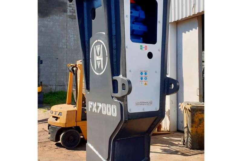 Hydraulic hammers FX 7000 60  80 TON EXCAVATOR 2017