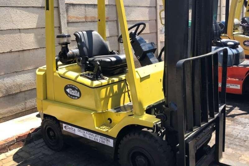 Hyster Forklifts Diesel forklift 1.8ton Hyster H1.80XM 2012