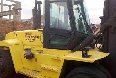 Hyster Diesel forklift 12 ton Hyster emty container handler Forklifts