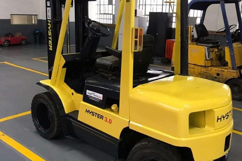 Hyster Diesel forklift 3Ton H3:00XM Forklift Forklifts