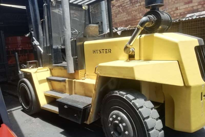 Hyster Diesel forklift Good Working Condition 12 ton 3.5m Lift S/Shift Forklifts