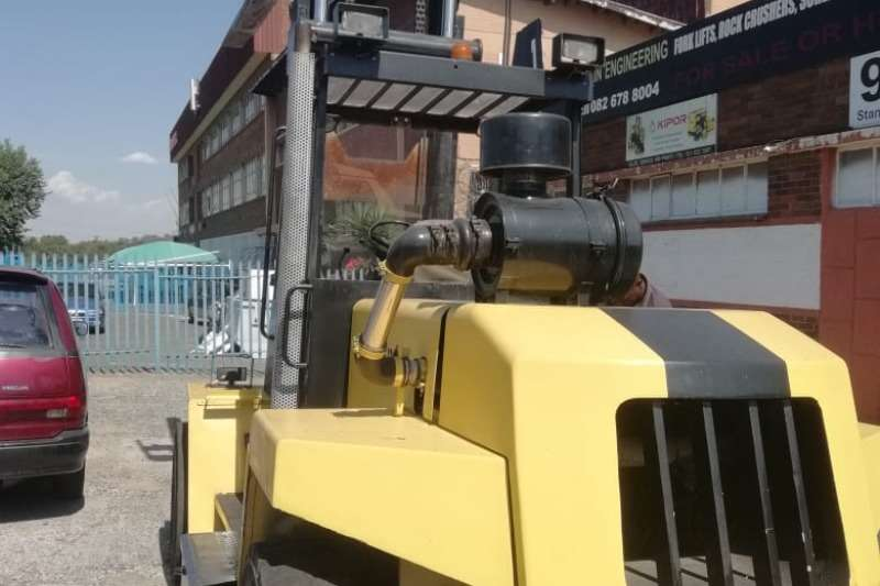 Hyster Forklifts Diesel forklift Good Working Condition 12 ton 3.5m Lift S/Shift