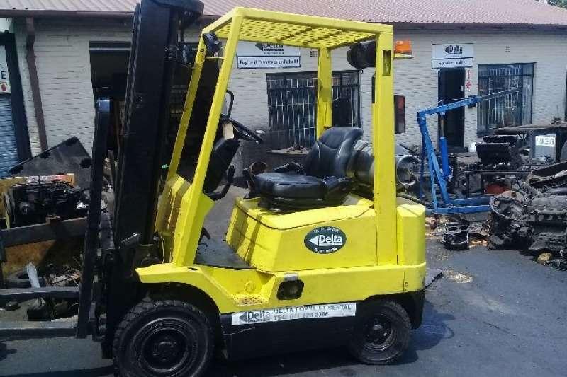 Hyster Forklifts Diesel forklift H1.80XM diesel, 3400mm lift, sideshift, load backr 2018