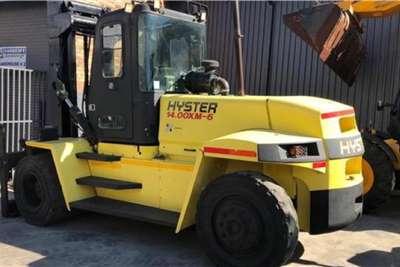 Hyster Diesel forklift Hyster 14TON XM Forklifts