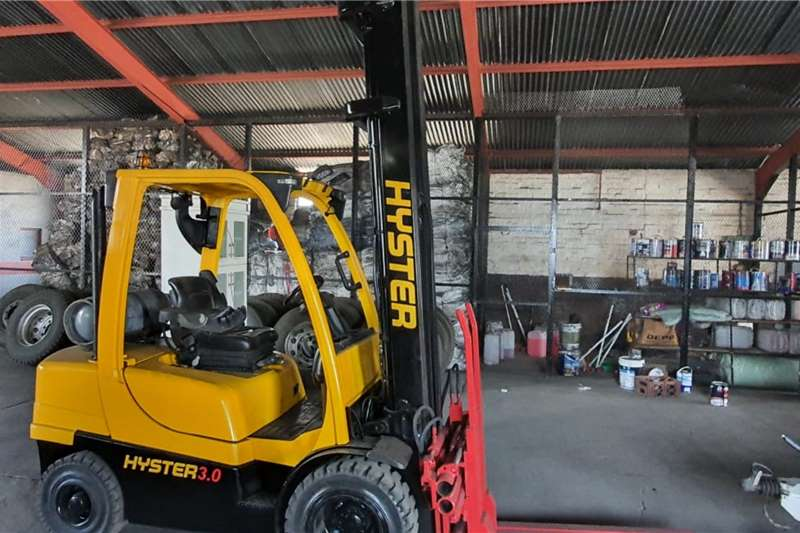 Hyster Forklifts LP gas