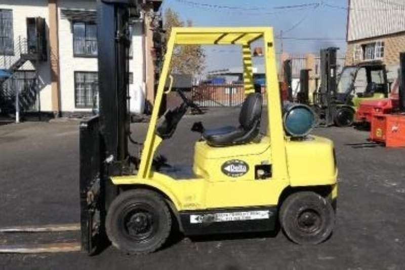 Hyster Forklifts Petrol forklift A used 2.5ton Hyster H2.50XM petrol & lpgas forkli 2016