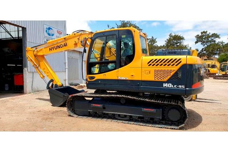 Hyundai Excavators 140LC 9s 2014