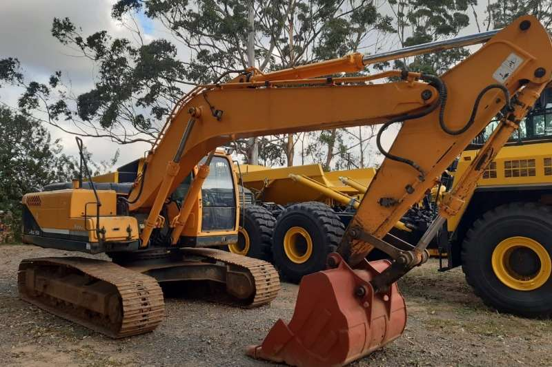 Hyundai Excavators 220LC 95H 2009