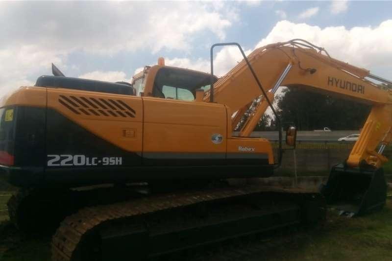 Hyundai 220LC 95H Excavators