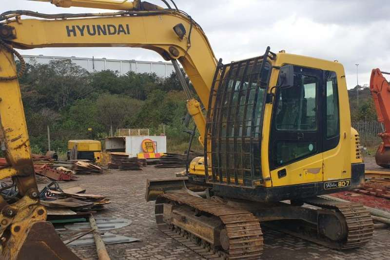 Hyundai Excavators Machinery for sale in South Africa on