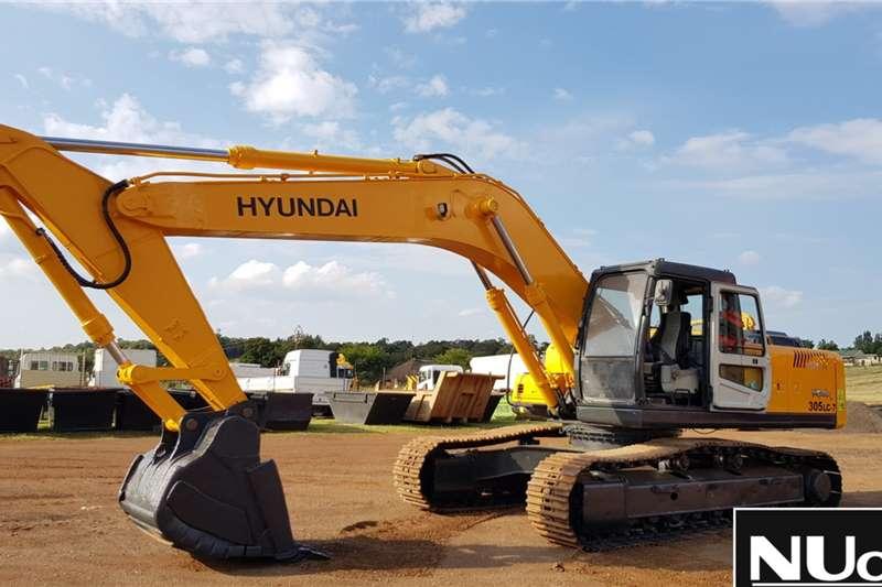 Hyundai Excavators Hyundai Robex 305LC 7 Excavator