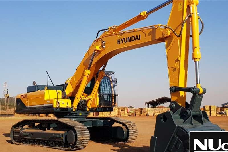 Hyundai Excavators HYUNDAI ROBEX 520LC 9S EXCAVATOR 2014
