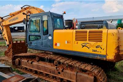 Hyundai ROBEX 360LC 7A Excavators