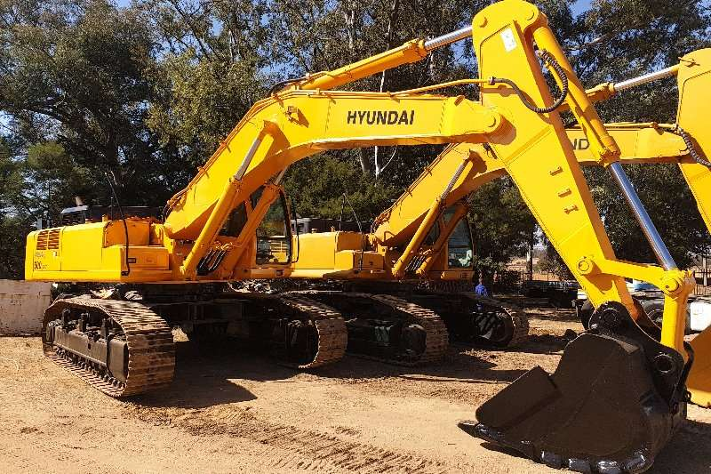 Hyundai Excavators ROBEX 500LC 7 2009