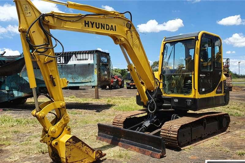 Hyundai Robex 55 7 Mini Excavator Excavators