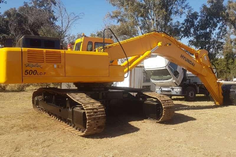 Hyundai Excavators ROBEX500LC 7 2009