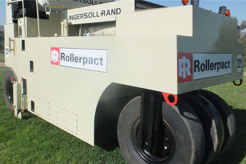Ingersoll Rand Rollers INGERSOLL RAND 22 TON
